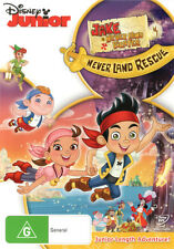 Jake and the Never Land Pirates: Jake's Never Land Rescue  - DVD - NEW Region 4