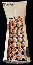 Full Box RAW Classic Prerolled Natural Gum Hemp Cones 1 1/4 Size (192 Total)