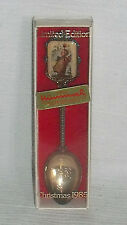 "Hummel Christmas Spoon Vtg 1985 Limited Edition 4.75"" Silverplated"