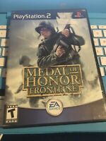 Medal of Honor Frontline Sony PlayStation 2 Ps2 No Manual