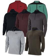 2018 Nike Drifit Half Zip Core Golf Pullover para Hombre AH5548-Elige Color Y Talla