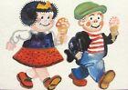 Nancy Sluggo Comics ACEO ATC original art card miniature collectible Painting