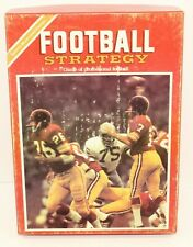 Sports Illustrated Football Strategy - Board Game - Bookcase Game - Vintage