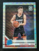 2019-20 Panini Optic TYLER HERRO Fanatics Silver Prizm Rookie Wave Holo RC *READ