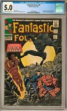 Fantastic Four #52 CGC 5.0 (OW-W) 1st Appearance of the Black Panther