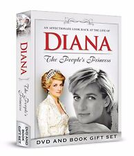 Diana Twenty (20) Years on DVD and The Peoples Princess Book & DVD 2017 Gift Set