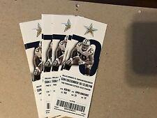 Dallas Cowboys vs Tampa Bay 12/18/16 Unused Ticket - Season Ticket. Dallas Wins!