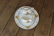 Antique Alfred Meakin Serving Tray Sugar Creamer Porcelain China