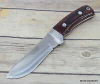 JOKER KNIVES MADE IN SPAIN FIXED BLADE HUNTING KNIFE FULL TANG LEATHER SHEATH