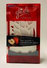 Glade Expressions Oil Diffuser Starter Kit Holder Fuji Apple & Cardmom Spice
