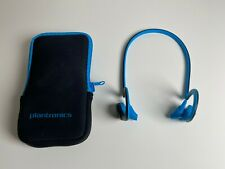Plantronics BackBeat Fit Blue Behind the Head Headsets for Mobile