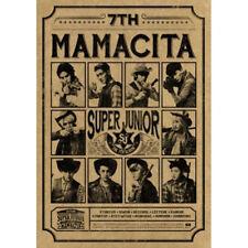 SUPER JUNIOR [MAMACITA] 7th Album B Ver CD+Booklet+Photocard K-POP SEALED