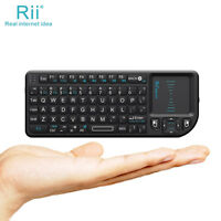 Rii X1 2.4G Mini Keyboard for Smart TV PC Accessories Raspberry PI Google TV Box