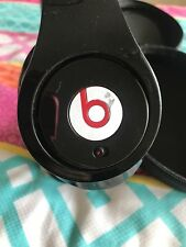 beats by dr dre studio headphones Black 190003-00 And Case Great Item