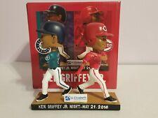 2016 Ken Griffey Jr Cincinnati Reds / Seattle Mariners Bobblehead MISSING BATS