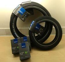 Sinclair C5 Tyre & Inner Tube Set (Genuine Schwalbe - Big Apple - Balloon Tyres)