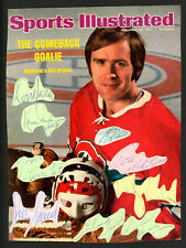 Sports Illustrated Magazine Cover Autographed by Ken Dryden & 8 Others 178240