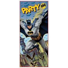 Plastic Batman Door Poster 5ft X 2.5ft 49922 by Unique Party
