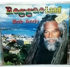 BOB ANDY REGGAE LAND CD SEALED trojan studio one bob marley 45 tuff gong Jamaica