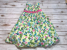 Gymboree 6 Special Ocassion Flower Garden Watercolor Floral Easter Dress Pink