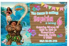 Moana Birthday Party Invitation (Printable)