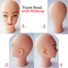 Make up Doll Styling Head Mannequin Cosmetology Head Practice in Beauty School
