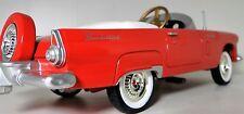 Thunderbird Tbird T Bird Pedal Car A Ford Vintage Red 1950s Midget Metal Model