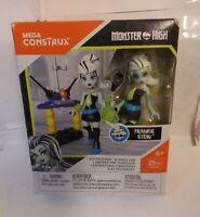 Mega Construx Monster High Frankie Stein Voltageous Science Lab DYK98 NEW