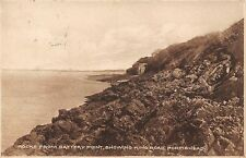 Rocks from Battery Point showing King Road, Portishead 1925