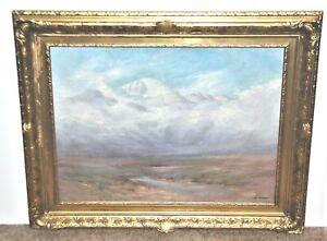 William H. Bancroft Colorado Artist Western Mountain Landscape