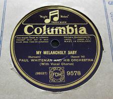 PAUL WHITEMAN-My Melancholy Baby (feat. rent beidebecke)/Jeannine, i dream...