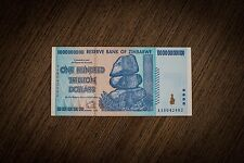 1 Pcs x Zimbabwe 100 Trillion Dollars 2008 | AA P91, UNC, MINT Condition
