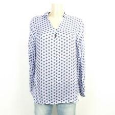 ESPRIT Bluse Tunika Blau Muster Gr. 36 S (DE99)