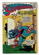 DC Comics Superman 1965 VG+ 175 Lex luthor Clarks Brother VG+ 4.5