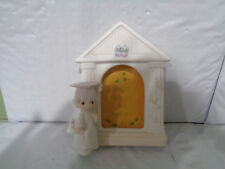 """1981 - Precious Moments - """"The Lord Bless You"""" Graduation - Picture Frame E-7178"""
