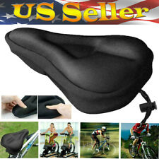 Wide Big Bum Bike Bicycle Gel Cushion Extra Comfort Sporty Soft Pad Seat Cover
