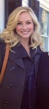 ASO Caroline Forbes The Vampire Diaries American Eagle Navy Babydoll Cami XS