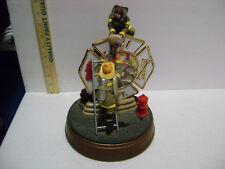 FIRE DEPT *Courage Under Fire* Sculpture Limited Edition 2001 Bradford Exchange
