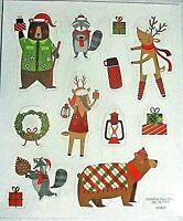 Over the HEDGE Hallmark Scrapbook Stickers 4 SHEETS Animals Squirrel Raccoon