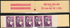 Viet-Nam Scott #290A VF MNH 1966 Woman Playing 16 String Guitar Unsealed Booklet