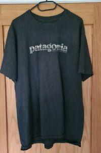 Patagonia Logo T Shirt Dark Grey XL