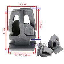 20x Nylon Trim Clips Exterior Door Mouldings, Side Trim & Bumpstrip For Honda