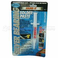 1pc Solder Paste Silver Bearing Syringe Type 7.1g SOLDER-IT SP-7 made in USA