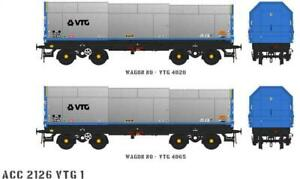 Accurascale ACC2126-VTG-1 2X JSO50A JSA Steel Coil Wagons