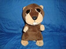 """Great Wolf Lodge Beaver Plush & Beans The Petting Zoo 7.5"""" tall"""