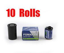 10 Rolls Foma Fomapan 400 Action 400 35mm 135-36  B&W  Film Fresh 2022