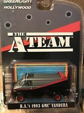 GREENLIGHT  A-TEAM  B.A 1983 GMC VANDURA VAN RUBBER TYRES