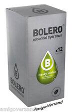 Bolero Drinks - Honey Melon (Honigmelone) - 12 Beutel für 18-36 Liter