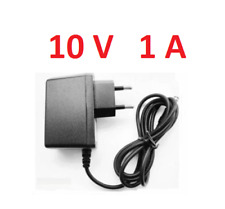 Adaptateur secteur alimentation 10V 1A, AC 100-240 V Embout 5,5x2,1mm