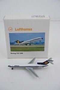 Herpa Wings Lufthansa Boeing 727-200 1:500 #515917 Die-cast Airplane Model